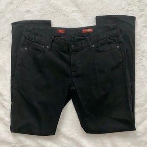 EUC Express Stella Black Skinny Jeans Size 10S